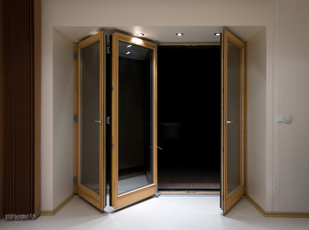 Bi fold doors folding sliding doors scotland for Folding doors